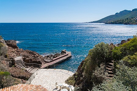 Fabulous 20 room Waterfront  Estate for sale in Theoule sur Mer with 2 Pools, Private Beach and Pontoon.