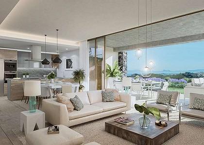 2 bedroom penthouse for sale, La Quinta, Benahavis, Malaga Costa del Sol, Andalucia