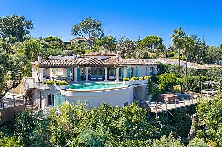 5 bedroom villa for sale, Gassin, St Tropez, French Riviera