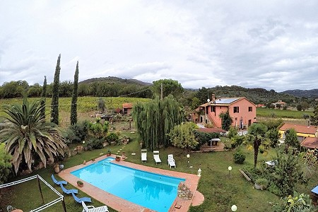 6 bedroom farmhouse for sale, Suvereto, Livorno, Tuscany