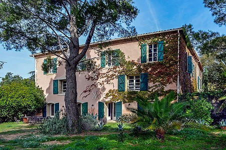 6 bedroom manor house for sale, Alignan du Vent, Herault, Languedoc-Roussillon