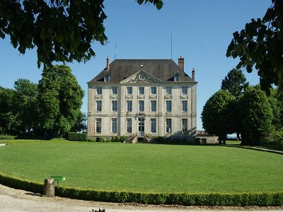 Classical 18th Century French Chateau for Sale in Burgundy