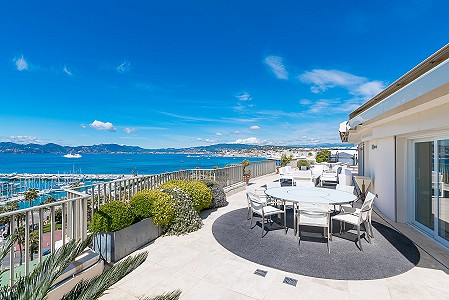 2 bedroom penthouse for sale, Croisette, Cannes, Cote d'Azur French Riviera