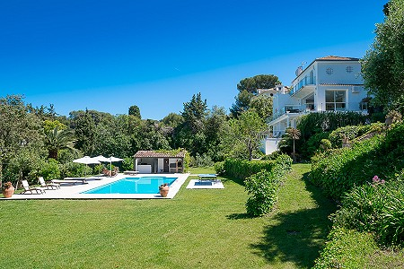 Image 3   6 bedroom villa for sale with 0.38 hectares of land, Cap d'Antibes, Antibes Juan les Pins, French Riviera 204417
