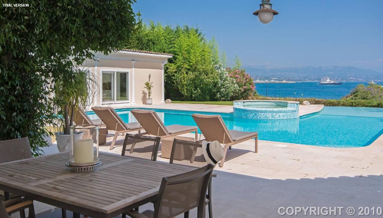 villa france cap d 39 antibes 179343 prestige property group. Black Bedroom Furniture Sets. Home Design Ideas