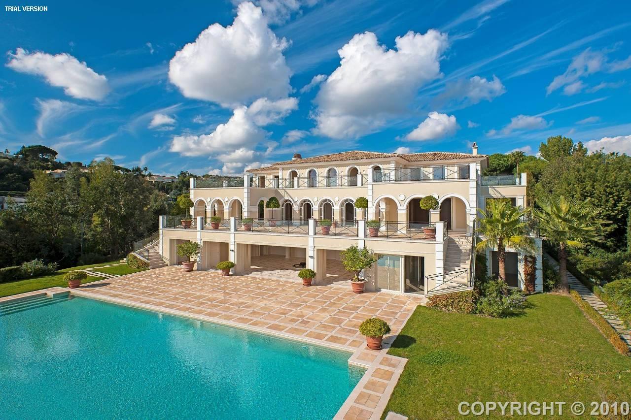 villa france super cannes 183119 prestige property. Black Bedroom Furniture Sets. Home Design Ideas