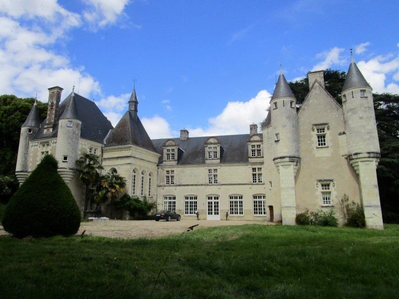 Charming french chateau for sale in the loire valley with 11 bedrooms and boutique hotel appeal