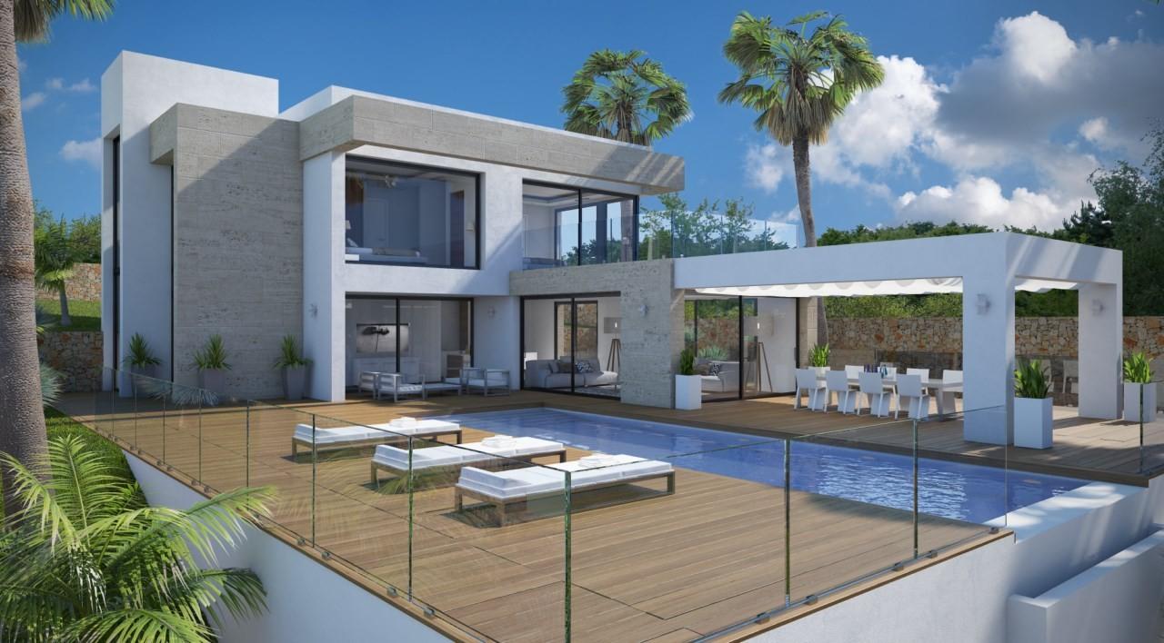 Villa spain javea 193801 prestige property group for Modern house uk for sale