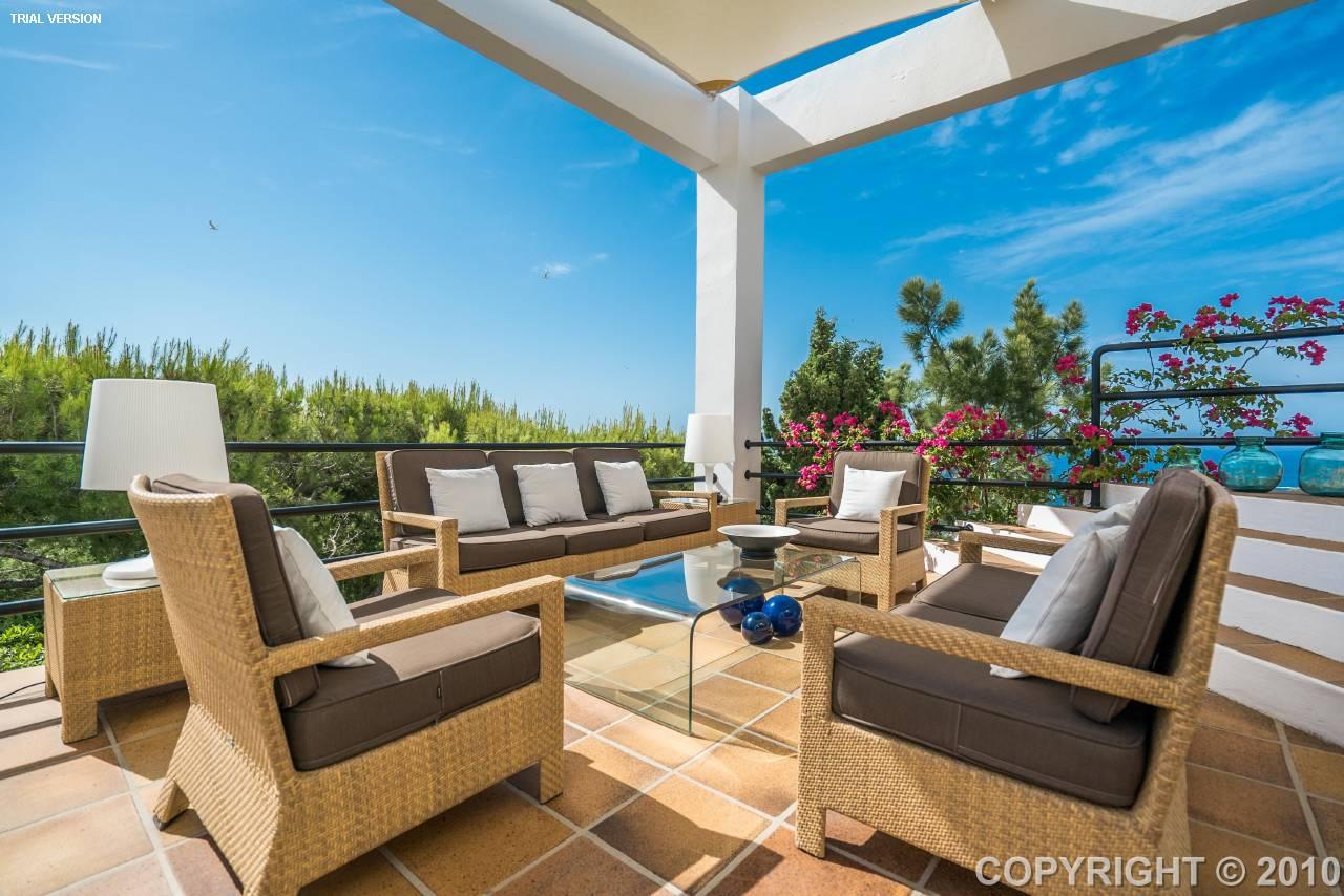 Villa balearic islands roca llisa 201386 prestige property group - Roca llisa ibiza ...