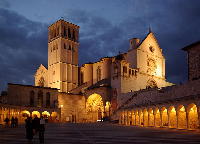 The city of Assisi near property for sale in Italy.