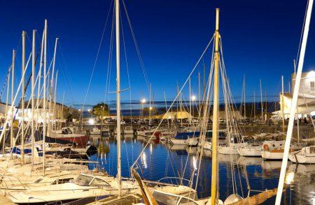 Saint Martin harbour close to our ile de re property for sale.