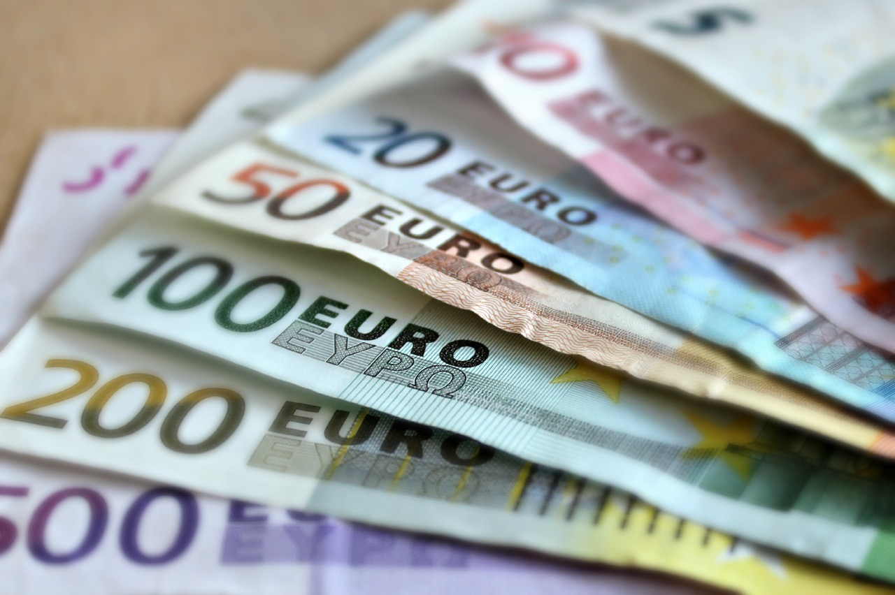 Stack of euros for Marbella property for sale.