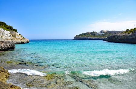 Beach view near Mallorca property for sale.
