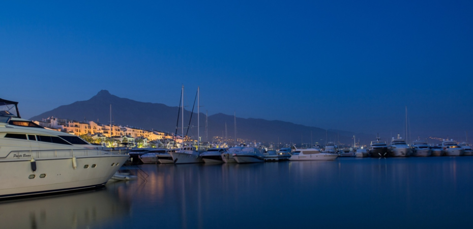 harbour near a luxury property in Marbella