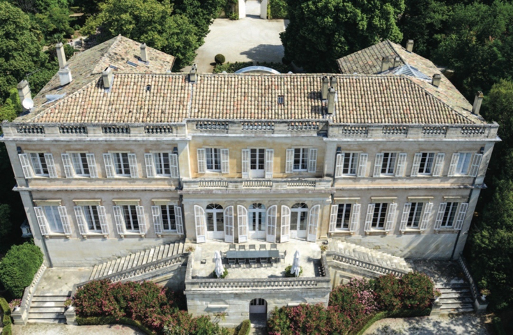 Grand French chateau for sale in Provence.