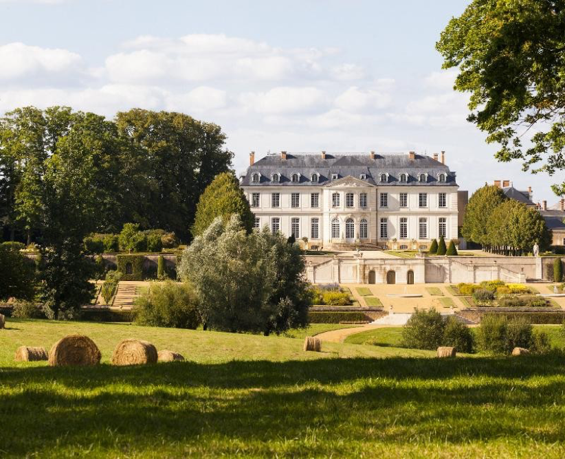 French chateau for sale set in the countryside.