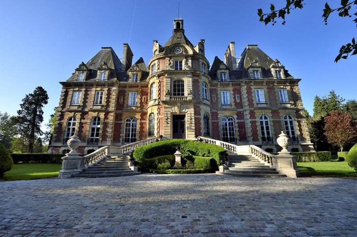 19th century French chateau for sale in Normandy.