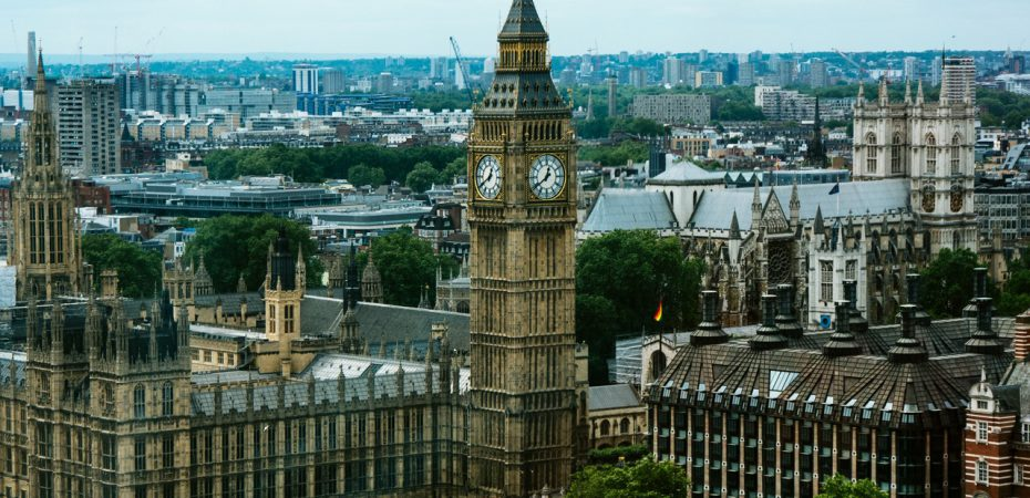 Big Ben in London, close to our UK property for sale.