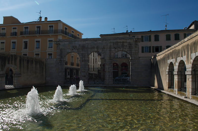 Roman thermal baths at Dax.