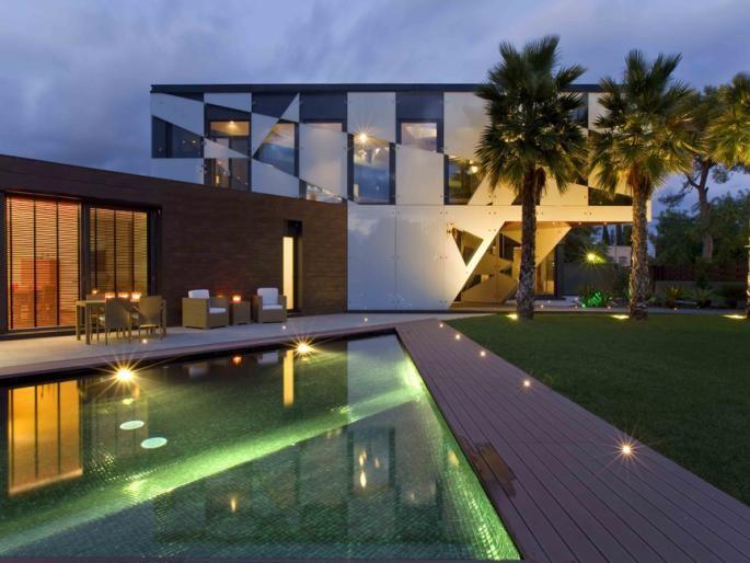 Art deco luxury villa sitges