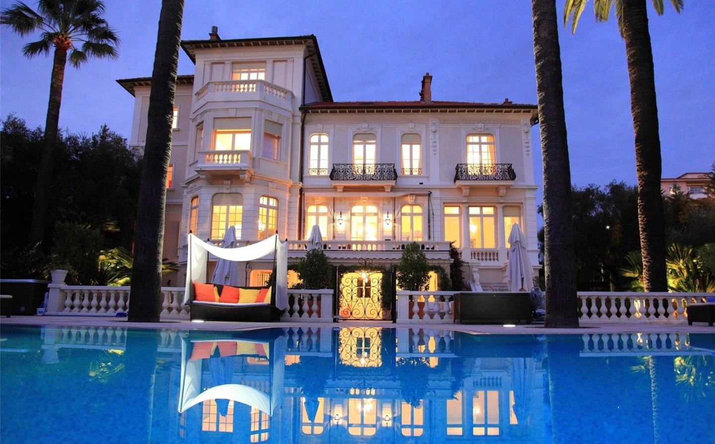 Belle Epoque style Cannes Property