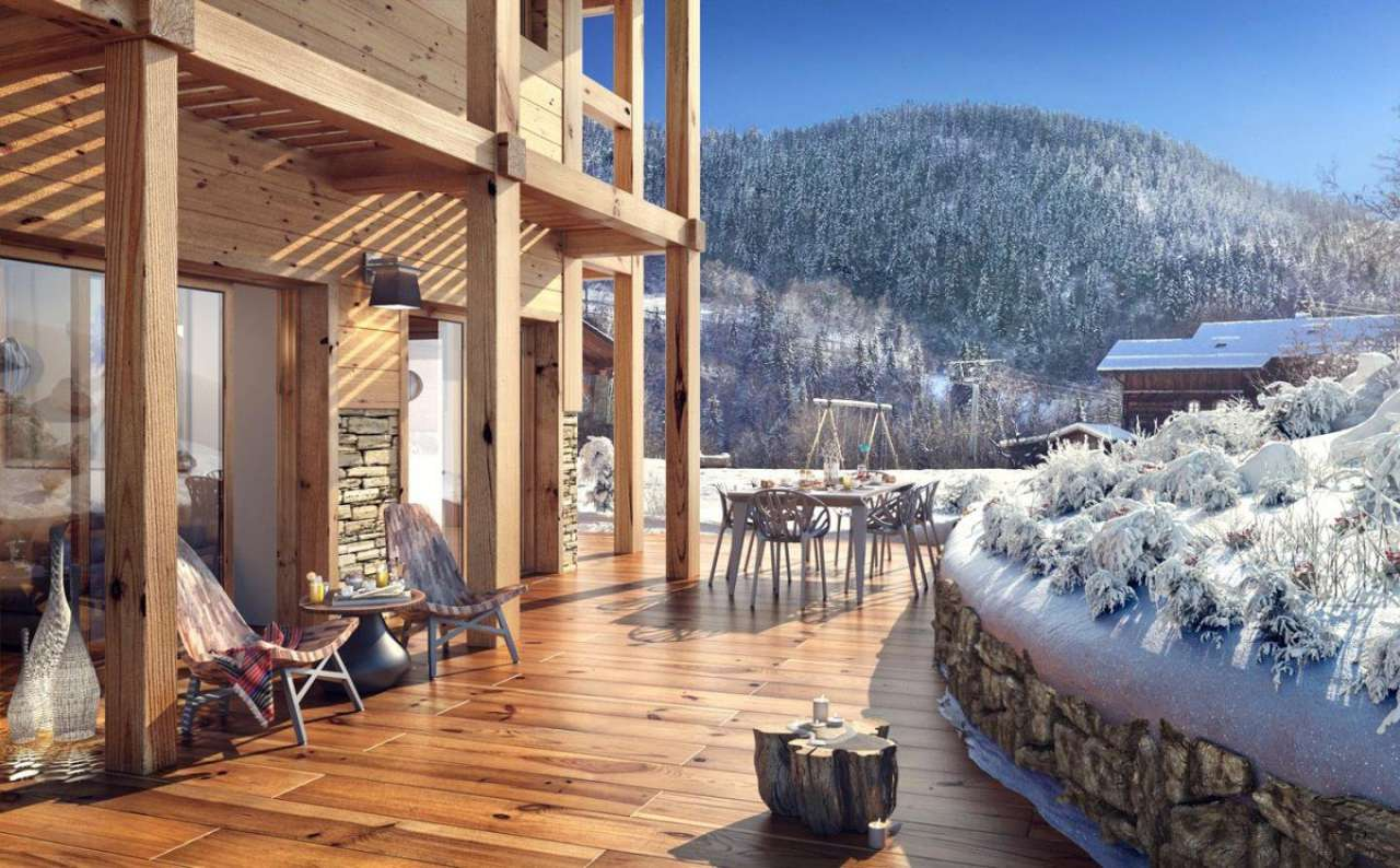 Luxury ski chalet for sale Meribel