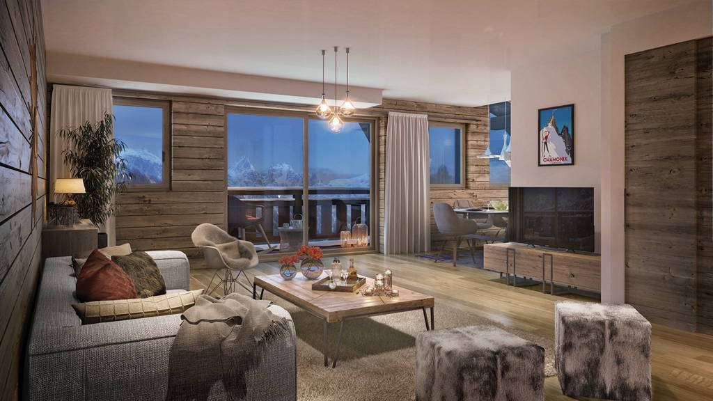 Luxurious Chamonix Ski Apartment