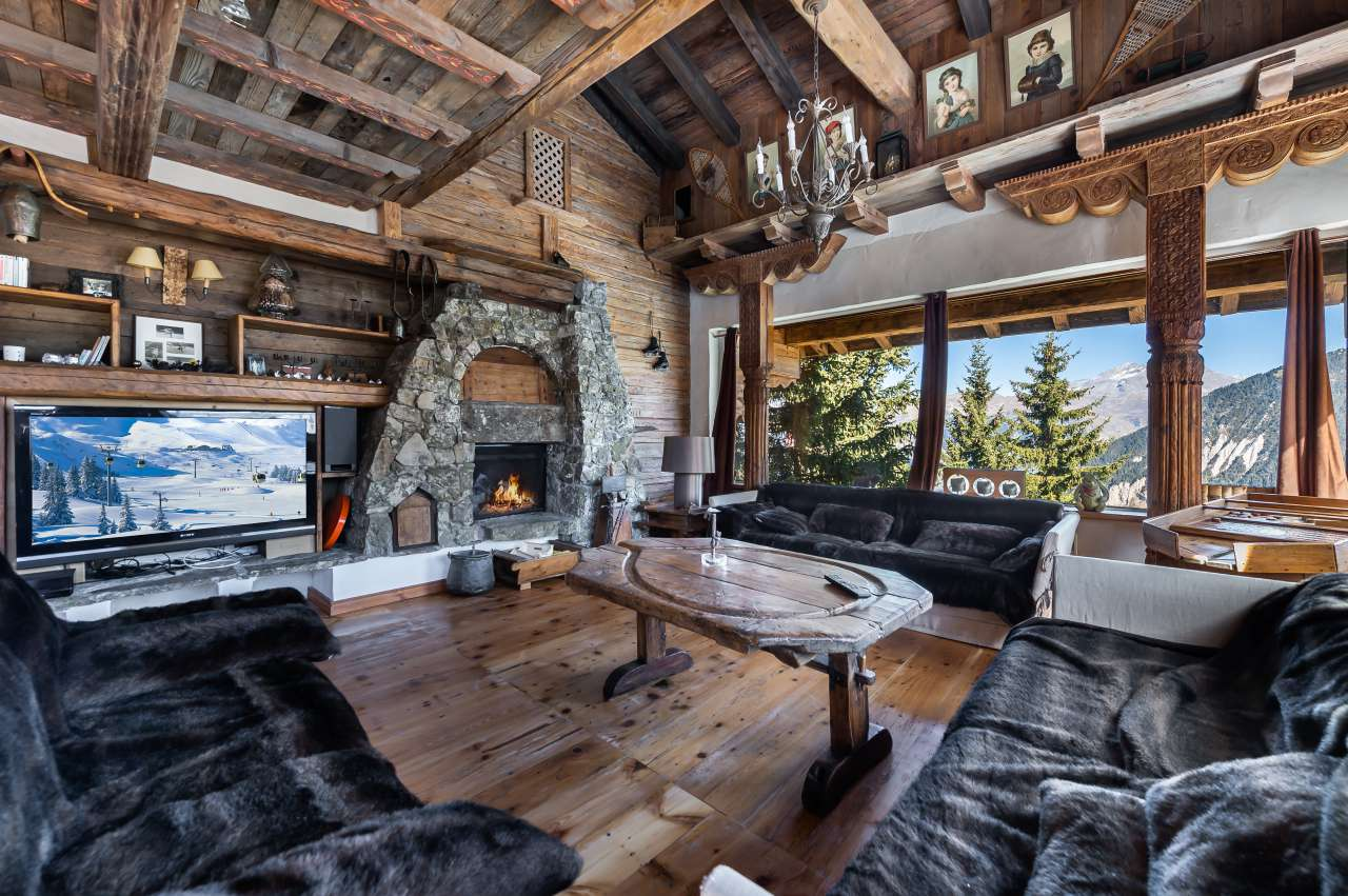 Courchevel ski chalet for sale