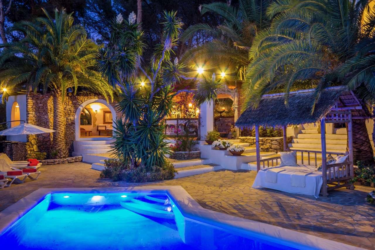 Spanish wedding Ibiza villa
