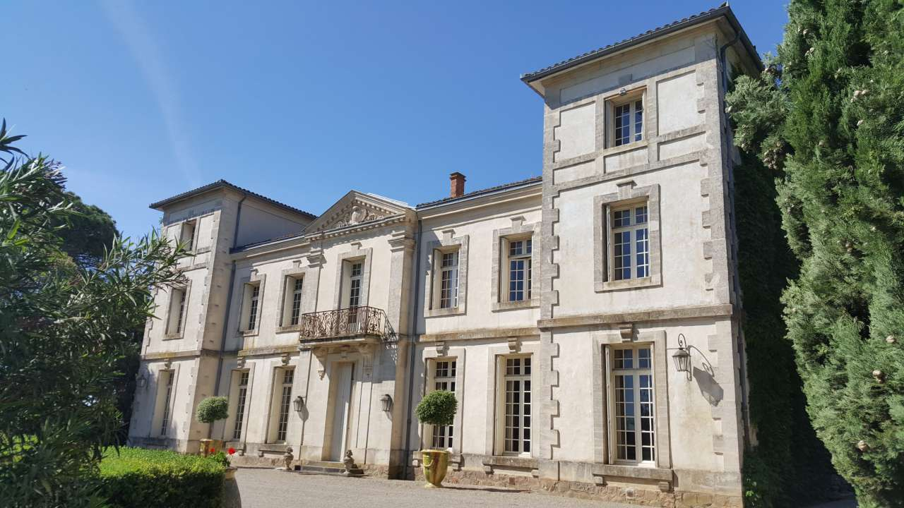 Herault Montpellier chateau for sale
